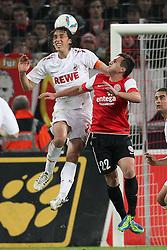 13.12.2011, Rhein Energie Stadion, Koeln, GER, 1.FBL, 1. FC Koeln vs Mainz 05, im BildPedro Geromel (Koeln #21) gegen Mario Gavranovic (Mainz #22) // during the 1.FBL, 1. FC Koeln vs Mainz 05 on 2011/12/13, Rhein-Energie Stadion, Köln, Germany. EXPA Pictures © 2011, PhotoCredit: EXPA/ nph/ Mueller..***** ATTENTION - OUT OF GER, CRO *****