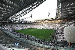 "08.09.2011, Juventus Arena, Turin, ITA, FSP, Juventus Turin vs Nottos County anlässlich der Neueröffnung des Stadion von Juventus Turin, im Bild New Juventus Stadium (Juventus).Il nuovo stadio della Juventus.Torino 8/9/2011 Stadio ""Juventus stadium"".Football Calcio 2011/2012 Friendly match.Juventus Vs Nottos County. EXPA Pictures © 2011, PhotoCredit: EXPA/ InsideFoto/ Alessandro Sabattini +++++ ATTENTION - FOR AUSTRIA/(AUT), SLOVENIA/(SLO), SERBIA/(SRB), CROATIA/(CRO), SWISS/(SUI) and SWEDEN/(SWE) CLIENT ONLY +++++"