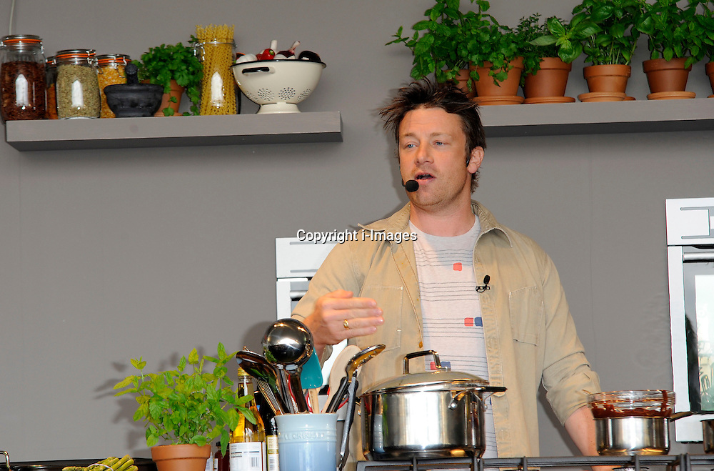 Jamie Oliver at the Taste of London festival in London on Friday, 22nd June 2012 Photo by: Chris Joseph / i-Images