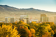 Boise Skyline in Fall 2014