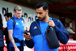 West Brom's Nacer Chadli and James McClean arrive at the Wham Stadium - Mandatory by-line: Matt McNulty/JMP - 22/08/2017 - FOOTBALL - Wham Stadium - Accrington, England - Accrington Stanley v West Bromwich Albion - Carabao Cup - Second Round