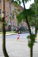 Mannheim. 14.07.17 | Spinelli<br /> Feudenheim. Spinelli. Ehemaliges US Areal wird derzeit als Fl&uuml;chtingsunterkunft verwendet. <br /> 2023 soll hier die Bundesgartenschau BUGA stattfinden.<br /> - Tag der offenen T&uuml;r.<br /> <br /> <br /> BILD- ID 0414 |<br /> Bild: Markus Prosswitz 14JUL17 / masterpress (Bild ist honorarpflichtig - No Model Release!)