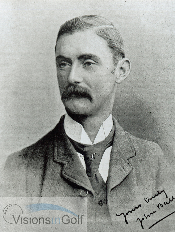 John Ball 1890<br /> Picture Credit: &copy;Visions In Golf / Michael Hobbs