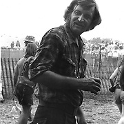 Bruce Phillips also known as Utah Phillips The Golden Voice of the great Southwest, at The Philadelphia Folk Festival in the early 70's
