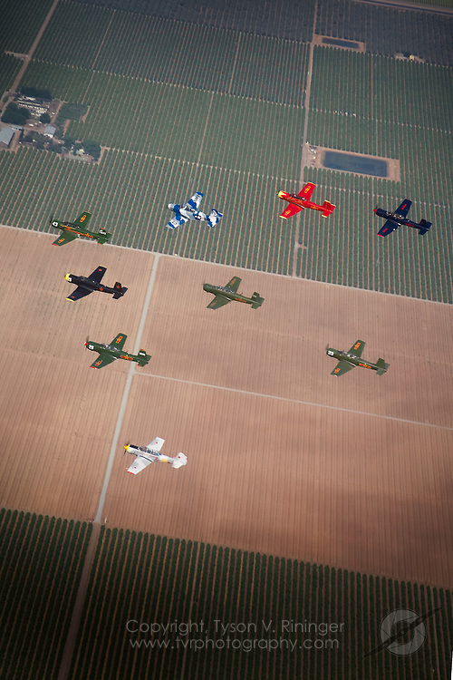 Annual Formation Clinic for Eastern Bloc Aircraft