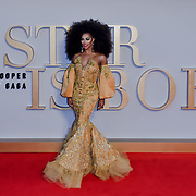 Shangela attend A Star Is Born UK Premiere at Vue Cinemas, Leicester Square, London, UK 27 September 2018.