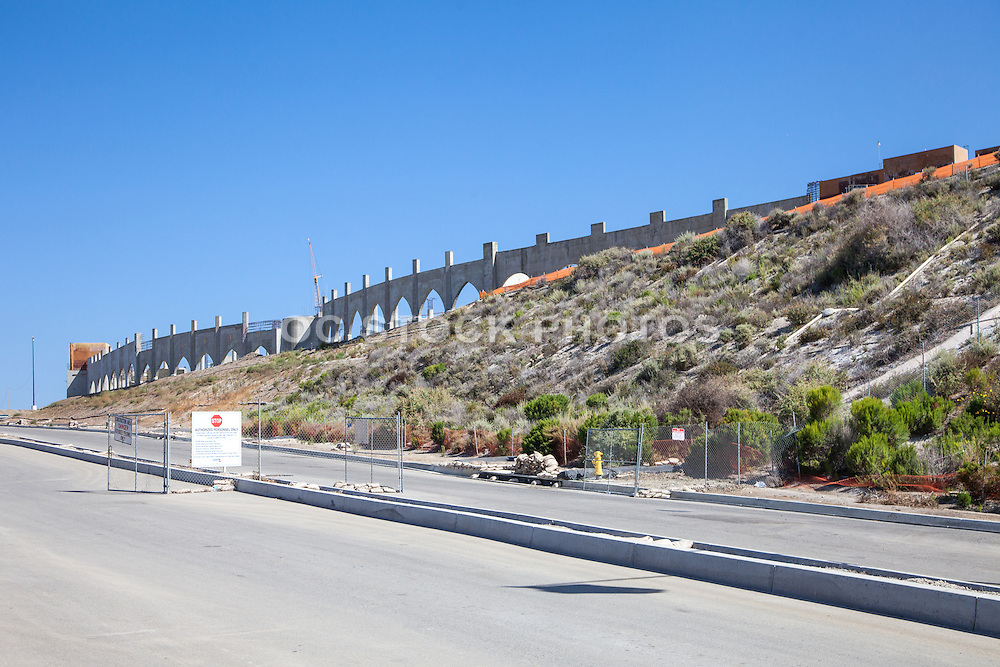 Construction of the New Outlets at San Clemente