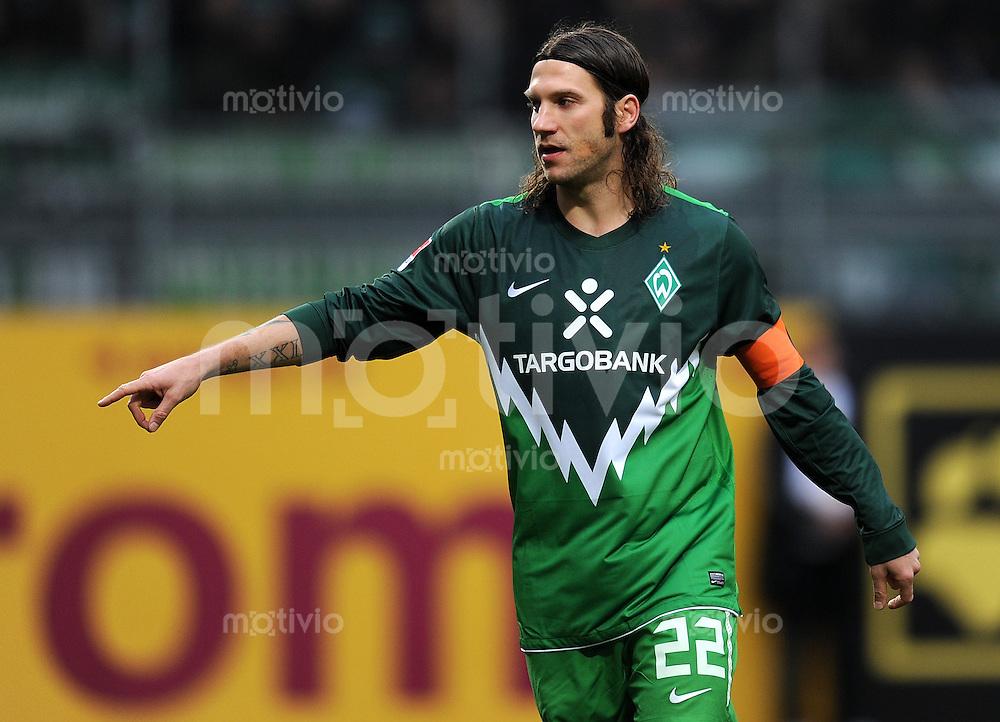 1. Fussball Bundesliga  Saison  2010/2011   21. Spieltag  05.02.2011 1 FSV Mainz 05 - SV Werder Bremen Torsten Frings (SV Werder Bremen)
