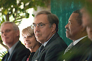 18414Academic & Research Center Groundbreaking September 29, 2007...Chuck and Marilyn Stuckey, Dean erwin in back, Dr. McDavis on right