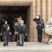 LUX/Luxemburg/20190504 - Funeral of HRH Grand Duke Jean/Uitvaart Groothertog Jean, Prins El Hassan Bin Talal van  Jordanie enPrincess Sarvath