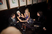 PIXIE GELDOF AND HANNAH SANDLING, Patti and Andy Wong  host a night of Surrealism to Celebrate the Chinese Year of the Rat. County Hall Gallery and Dali Universe. London. 27 January 2008. -DO NOT ARCHIVE-© Copyright Photograph by Dafydd Jones. 248 Clapham Rd. London SW9 0PZ. Tel 0207 820 0771. www.dafjones.com.