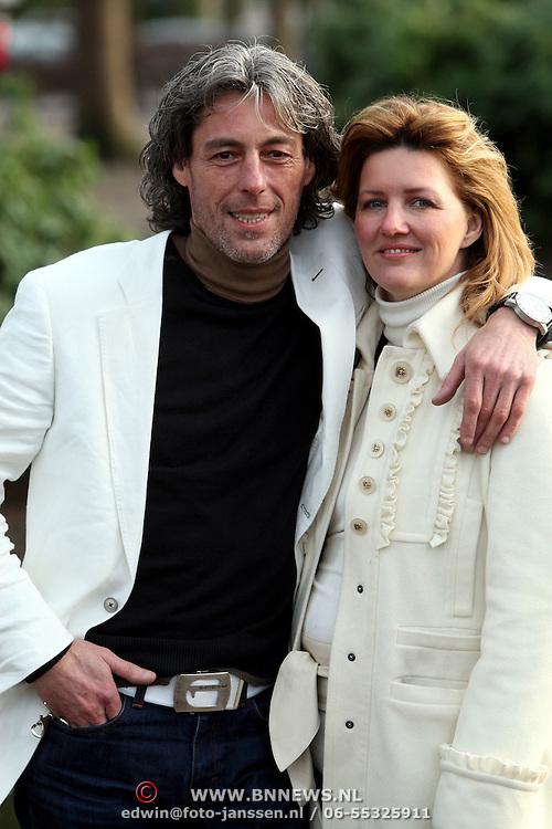 NLD/Laren/20080130 - Fokke van Alphen en partner Yvette Riemersma