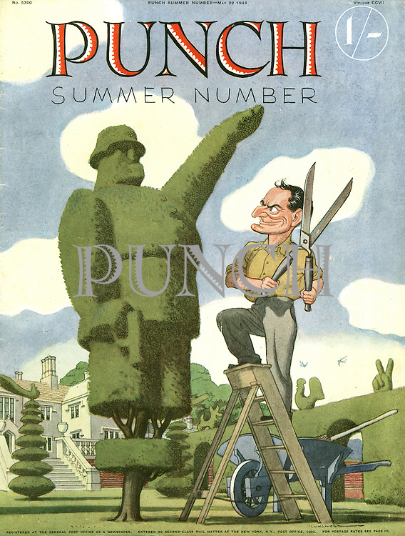 Punch Summer Number 1944 (front cover, 22 May 1944)