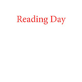Reading Day