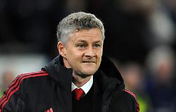 Manchester United caretaker manager Ole Gunnar Solskjaer looks on ahead of kick-off  - Mandatory by-line: Nizaam Jones/JMP - 22/12/2018 -  FOOTBALL - Cardiff City Stadium - Cardiff, Wales-  Cardiff City v Manchester United - Premier League