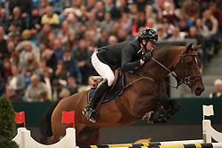 Wathelet Gregory, (BEL), Eldorado van het Vijverhof<br /> Longines FEI World Cup<br /> CSIO Leipzig 2016<br /> © Hippo Foto - Stefan Lafrentz