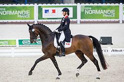 Karen Pavicic, (CAN), Don Daiquiri - Grand Prix Team Competition Dressage - Alltech FEI World Equestrian Games™ 2014 - Normandy, France.<br /> © Hippo Foto Team - Leanjo de Koster<br /> 25/06/14