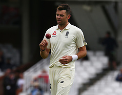 September 11, 2018 - London, Greater London, United Kingdom - England's James Anderson .during International Specsavers Test Series 5th Test match Day Five  between England and India at Kia Oval  Ground, London, England on 11 Sept 2018. (Credit Image: © Action Foto Sport/NurPhoto/ZUMA Press)