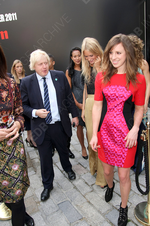 16.SEPTEMBER.2011. LONDON<br /> <br /> LFW - PAUL COSTELLO LAUNCH/ARRIVALS<br /> <br /> BYLINE: EDBIMAGEARCHIVE.COM<br /> <br /> *THIS IMAGE IS STRICTLY FOR UK NEWSPAPERS AND MAGAZINES ONLY*<br /> *FOR WORLD WIDE SALES AND WEB USE PLEASE CONTACT EDBIMAGEARCHIVE - 0208 954 5968*