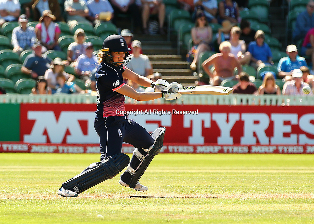 July 2nd 2017, The Cooper Associates County Ground, Taunton, England; The ICC Womens World Cup; England Women versus Sri Lanka Women; Sarah Taylor of England in batting action