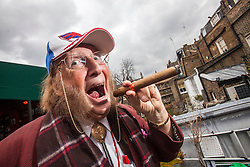 John McCririck, the English television horse racing pundit, speaks to Matt in the Boisdale in Belgravia.<br /> English views on the Scottish Independence feature.<br /> &copy; Michael Schofield.