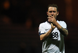 Aidan McGeady of Preston North End applauds the fans at the final whistle - Mandatory by-line: Jack Phillips/JMP - 23/09/2016 - FOOTBALL - Deepdale - Preston, England - Preston North End v Wigan Athletic -  EFL Sky Bet Championship