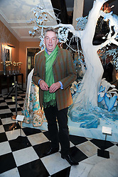 MICHAEL HOWES at the launch of the Claridge's Christmas Tree designed by John Galliano for Dior held at Claridge's, Brook Street, London on 1st December 2009.