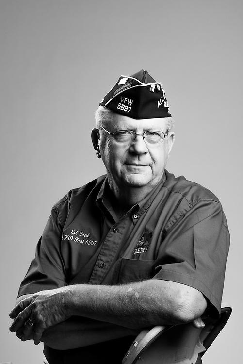 James E. Teal<br /> Army<br /> E-4<br /> Artillery<br /> Nov. 8, 1966 - Nov. 7, 1968<br /> Vietnam<br /> <br /> Veterans Portrait Project<br /> St. Louis, MO