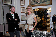 WILLIAM ROPER-CURZON; BARONESS LISA BENTINCK, , Hamlton-Paris host a trunk show for Autumn/Wnter 2010. The Connaught. Carlos Place. Mayfair. London W1. 23 March 2010.