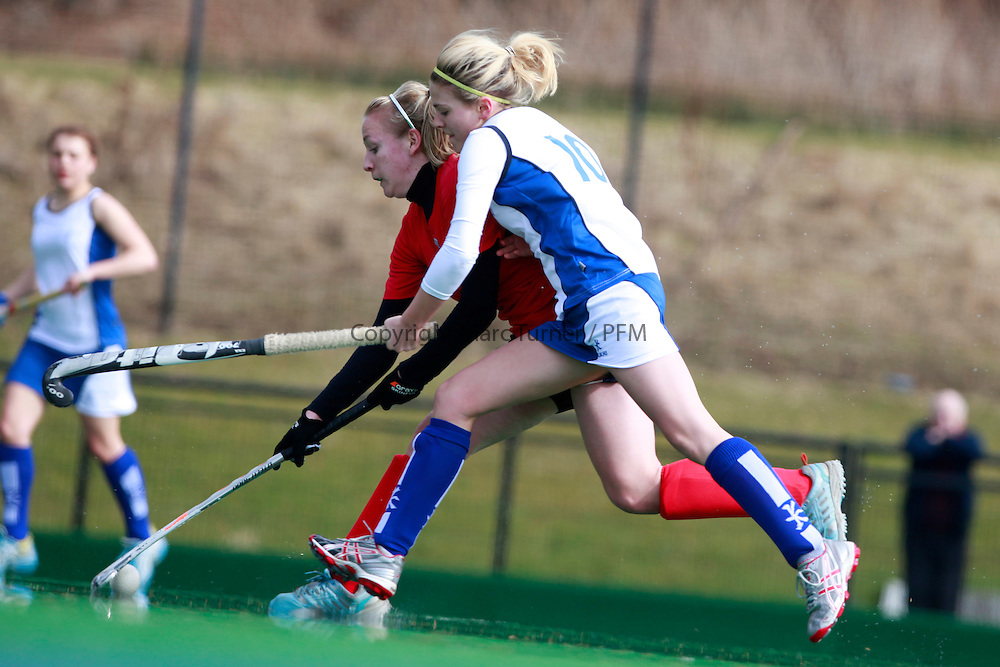 sportscotland Inverclyde National Sports Centre, Largs<br /> <br /> Wales V Scotland Hockey outdoors