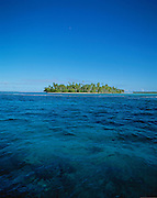 Motu (island) off Bora Bora, French Polynesia<br />
