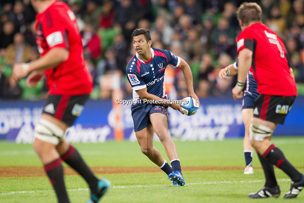 Kurtley Beale, Melbourne Rebels v Canterbury Crusaders 28-19, 12 May 2012