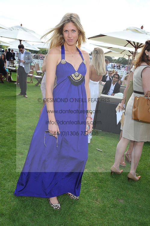 OPHELIA HOHLER at the 27th annual Cartier International Polo Day featuring the 100th Coronation Cup between England and Brazil held at Guards Polo Club, Windsor Great Park, Berkshire on 24th July 2011.