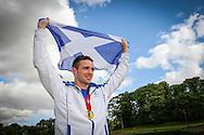 04.08.2014.  Prestonpans, Scotland.  Commonwealth Games.  Josh Taylor Homecoming.