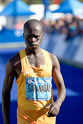 Baranabas Kiptum during the 2016 Sanlam Cape Town marathon held in Cape Town, South Africa on the 18th September  2016<br />