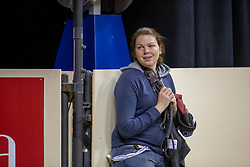 Marlen Schanwell, IRL, groom Bertram Allen<br /> World Cup Final Jumping - Las Vegas 2015<br /> © Hippo Foto - Dirk Caremans<br /> 16/04/2015