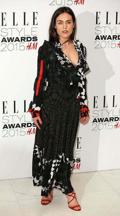 Tallulah Harlech attends the Elle Style Awards 2015 at Sky Garden @ The Walkie Talkie Tower on February 24, 2015 in London, England. EXPA Pictures &copy; 2015, PhotoCredit: EXPA/ Photoshot/ James Shaw<br /> <br /> *****ATTENTION - for AUT, SLO, CRO, SRB, BIH, MAZ only*****