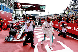 July 22, 2018 - Hockenheim, Germany - Motorsports: FIA Formula One World Championship 2018, Grand Prix of Germany, ..#44 Lewis Hamilton (GBR, Mercedes AMG Petronas Motorsport) (Credit Image: © Hoch Zwei via ZUMA Wire)