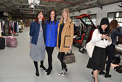 Left to right, Maria Kastani, Brita Fernandez Schmidt and Jade Parfitt at the #SheInspiesMe Car Boot Sale in aid of Women for Women International held Brewer Street Car Park, Soho, London England. 6 May 2017.<br /> Photo by Dominic O'Neill/SilverHub 0203 174 1069 sales@silverhubmedia.com