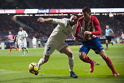 November 18, 2017 - Madrid, Madrid, Spain - Carvajal, Lucas during the match between Atletico de Madrid and Real Madrid, week 12 of La Liga at Wanda Metropolitano stadium, Madrid, SPAIN - 18th November of 2017. (Credit Image: © Jose Breton/NurPhoto via ZUMA Press)