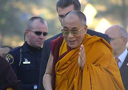 The Dalai Lama visits the Shambala Center, CO, under heavy guard, 2009
