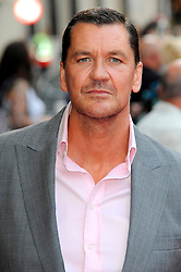 Bula Quo UK film premiere.  <br /> Craig Fairbrass attends premiere of Status Quo action film featuring 12 of the rock band's classic tracks. Directed by former stunt co-ordinator Stuart St Paul, starring Jon Lovitz, Craig Fairbrass, Laura Aikman and the band members themselves. Released July 5. Odeon West End, London, United Kingdom.<br /> Monday, 1st July 2013<br /> Picture by Chris Joseph / i-Images