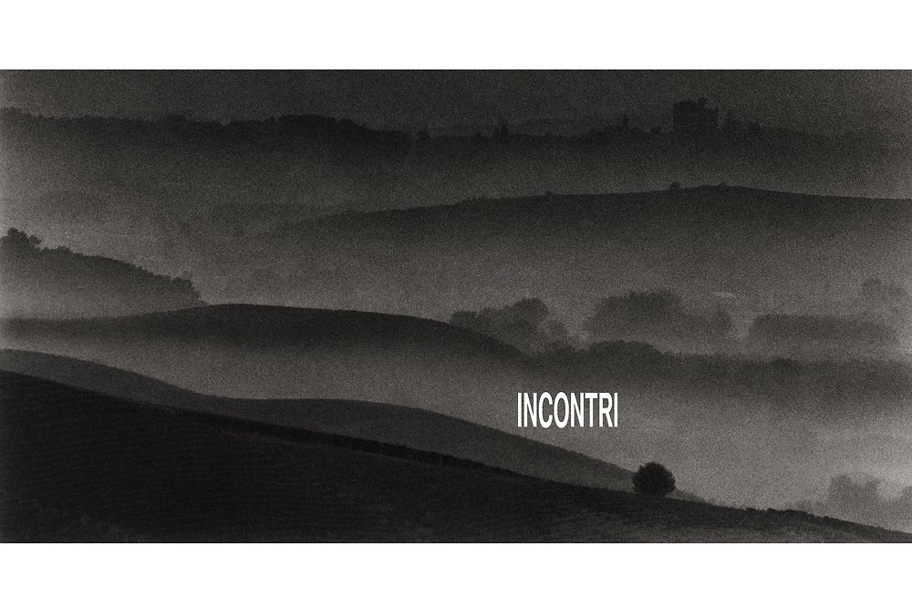 """Incontri"": A book exploring the the culture of the wine producing region of Barolo. Piemonte, Italy. Published 2012."