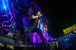 Capital Inicial se apresenta no Palco Planeta  durante a 22ª edição do Planeta Atlântida. O maior festival de música do Sul do Brasil ocorre nos dias 3 e 4 de fevereiro, na SABA, na praia de Atlântida, no Litoral Norte gaúcho.  Foto: Gustavo Roth / Agência Preview