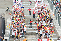 26.06.2011, Olympiastadion Berlin, Berlin, GER, FIFA Women's Worldcup 2011, Gruppe A,  Deutschland (GER) vs. Canada (CAN), im Bild  Stimmung auf den Raengen // during the FIFA Women's Worldcup 2011, Pool A, Germany vs Canada on 2011/06/26, Olympiastadion, Berlin, Germany.   EXPA Pictures © 2011, PhotoCredit: EXPA/ nph/  Kokenge       ****** out of GER / SWE / CRO  / BEL ******