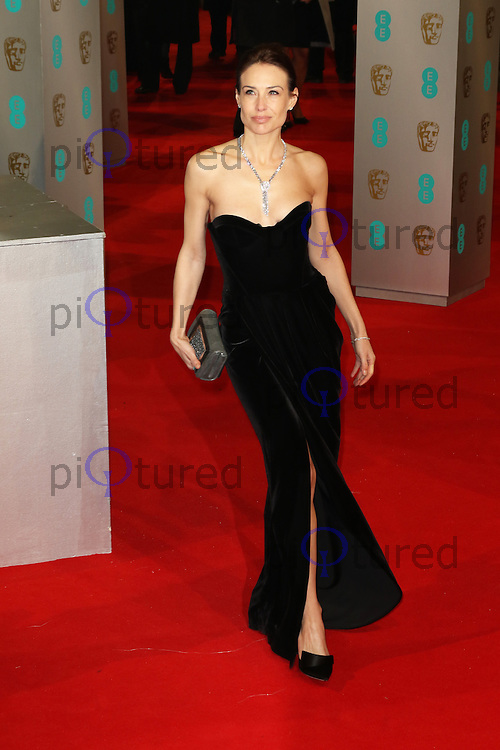 Claire Forlani, EE British Academy Film Awards (BAFTAs), Royal Opera House Covent Garden, London UK, 08 February 2015, Photo by Richard Goldschmidt