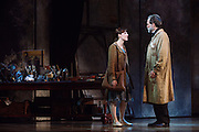 Boyd Gaines and Tiler Peck perform as Edgar Degas and Young Marie van Goethem in Little Dancer at the Kennedy Center in Washington, D.C. This is a world premiere Kennedy Center produced production that is directed and choreographed by Susan Stroman, book and lyrics by Lynn Ahrens, and music by Stephen Flaherty.