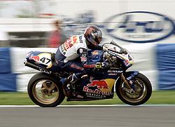 JOHN REYNOLDS GBR REVE RED BULL DUCATI,  World Superbike Championship Donington Park 14th May 2000