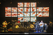 John McLaughlin and 4th Dimension Band<br /> Gary Husband-keyboards<br /> Mark Mondesir -drums<br /> Etienne M'Bappe- bass<br /> <br /> Riviera Maya Jazz Festival 2010