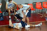 DESCRIZIONE : BORMIO RITIRO NAZIONALE ITALIANA PREPARAZIONE EUROPEI<br /> GIOCATORE : BULLERI - DALATRI<br /> SQUADRA : ITALIA<br /> EVENTO : RITIRO NAZIONALE ITALIANA PREPARAZIONE EUROPEI<br /> GARA : <br /> DATA : 06/08/2005<br /> CATEGORIA : Allenamento<br /> SPORT : Pallacanestro<br /> AUTORE : AGENZIA CIAMILLO &amp; CASTORIA